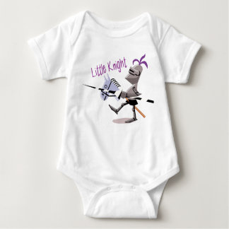 Little Knight Baby Baby Bodysuit