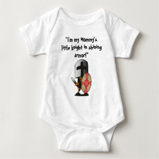 Little Knight in Shining Armor Baby Bodysuit