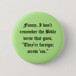 Little known Bible verses Pinback Button