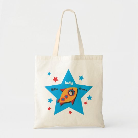 Little Lady Drama in a Rocket Bag