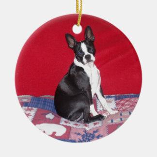 Little Lady Lola bug Ceramic Ornament