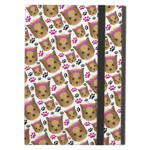Little Lady Toy Yorkie Yorkshire Terrier Puppy Dog Case For iPad Air