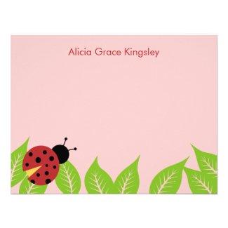 Little Ladybug Birthday Thank You Cards