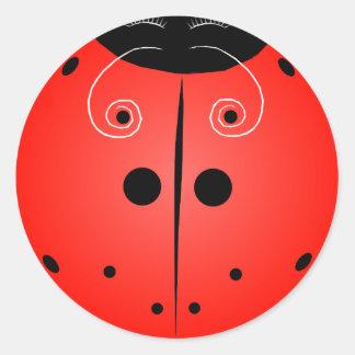 Little Ladybug! Classic Round Sticker