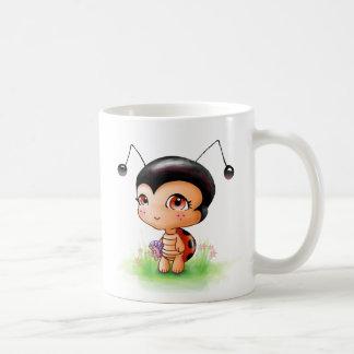 Little Ladybug Girl Mug