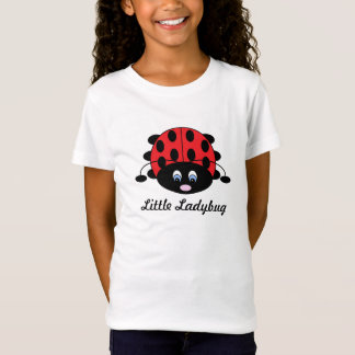 Little Ladybug Shirt for Girls