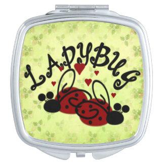 Little Ladybug Vanity Mirrors