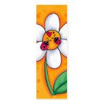 Little Ladybugs Bookmark Mini Business Card