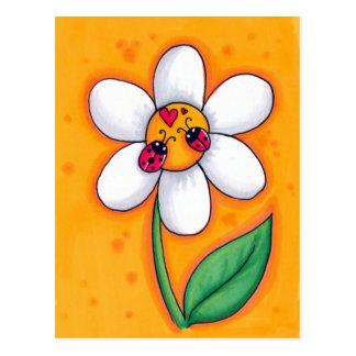 Little Ladybugs Postcard