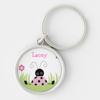 Little Ladybugs Premium Favor or Name Tag Keychain