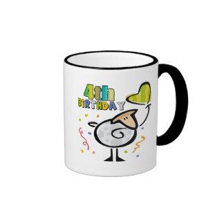 Little Lamb 4th Birthday Gifts Coffee Mug