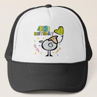 Little Lamb 4th Birthday Gifts Trucker Hat