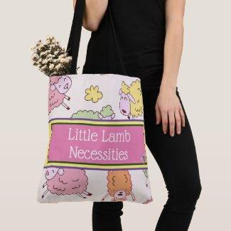Little Lamb Baby Diaper Bag