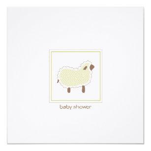Little lamb baby shower invitations announcements zazzle little lamb baby shower invitation filmwisefo Choice Image