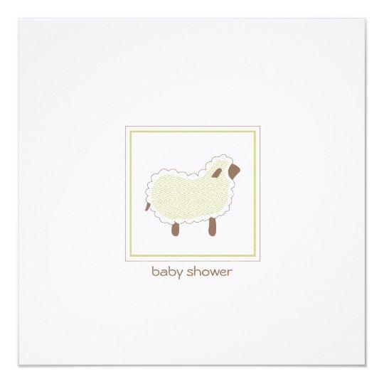 Little lamb baby shower invitation zazzle little lamb baby shower invitation filmwisefo