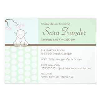 Little Lamb  |  Baby Shower Invitations