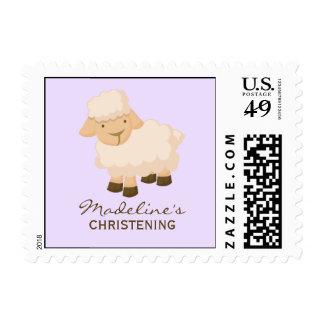 Little Lamb Baptism Stamp