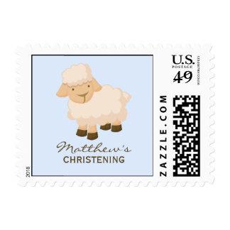 Little Lamb Baptism Stamps