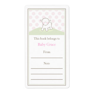 Little Lamb Bookplate