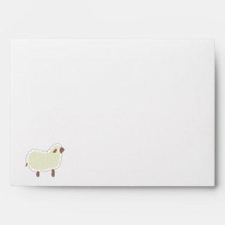Little Lamb Custom Envelope