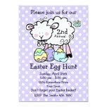 Little Lamb Easter Egg Hunt Invitation (pd)