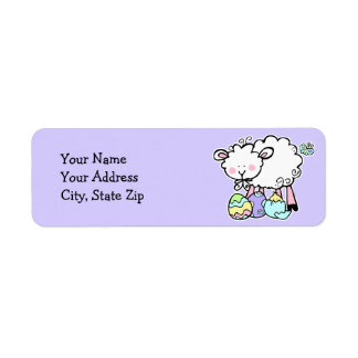 Little Lamb Easter Label