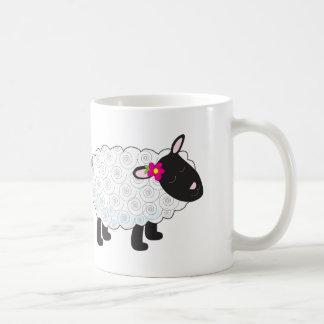 Little Lamb Classic White Coffee Mug