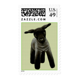 Little lamb postage stamps