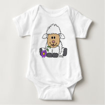 Little Lamb [Purity & Love] Baby Bodysuit