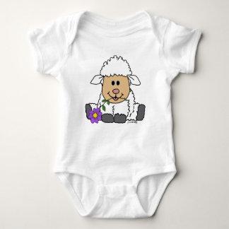 Little Lamb [Purity & Love] Baby Bodysuit