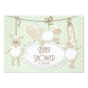 Little lamb baby shower invitations zazzle little lamb toys baby shower invitation filmwisefo