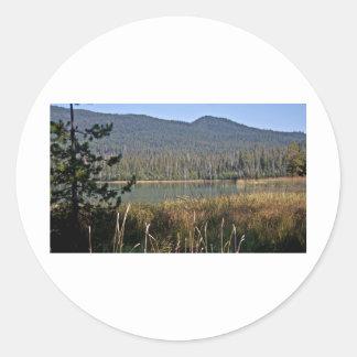Little Lava Lake Vista Classic Round Sticker