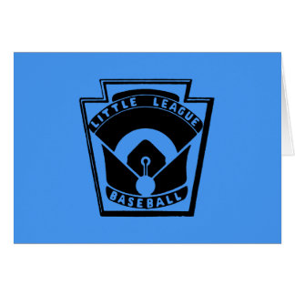 Little League Baseball Stationery Note Card
