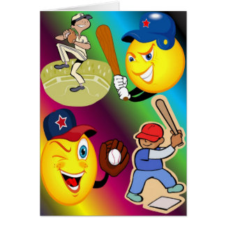 Little League Greeting Card 3