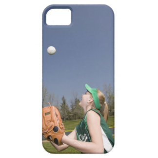 Little league player catching ball iPhone 5 cases