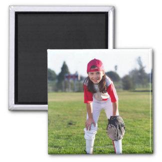 Little league player magnet