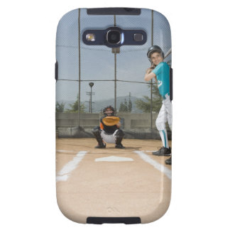 Little league player up to bat samsung galaxy s3 cases