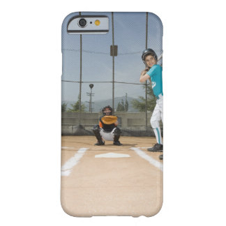 Little league player up to bat iPhone 6 case