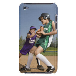 Little league softball game barely there iPod covers