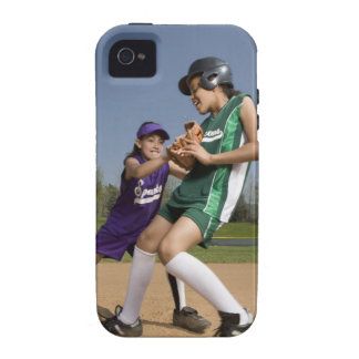 Little league softball game iPhone 4 cover