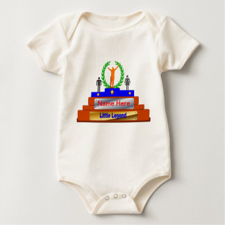 Little Legend Award. Customize with Name Baby Bodysuit