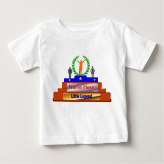 Little Legend Award. Customize with Name Baby T-Shirt
