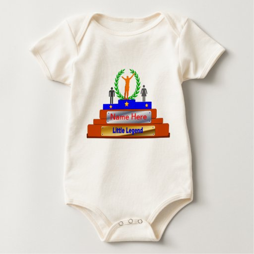 Little Legend Award. Customize with Name Creeper