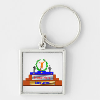 Little Legend Award. Customize with Name Keychain