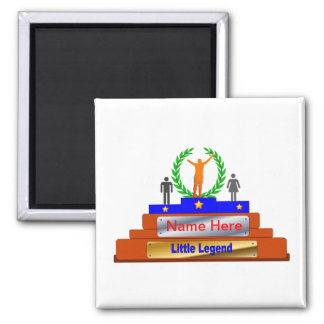 Little Legend Award. Customize with Name Magnets