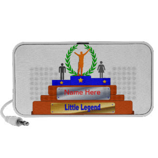 Little Legend Award. Customize with Name Travel Speakers