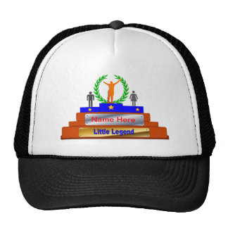 Little Legend Award. Customize with Name Trucker Hat