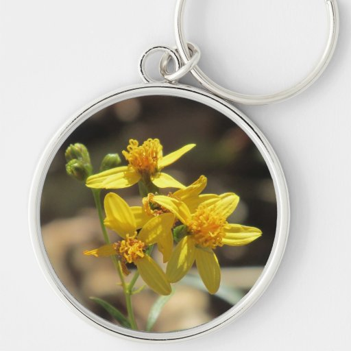 Little Lemon Head Wildflowers Key Chain
