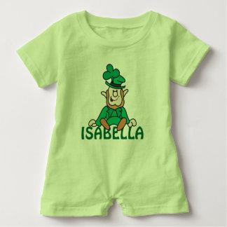 Little Leprechaun - Add Your Own Text Baby Romper