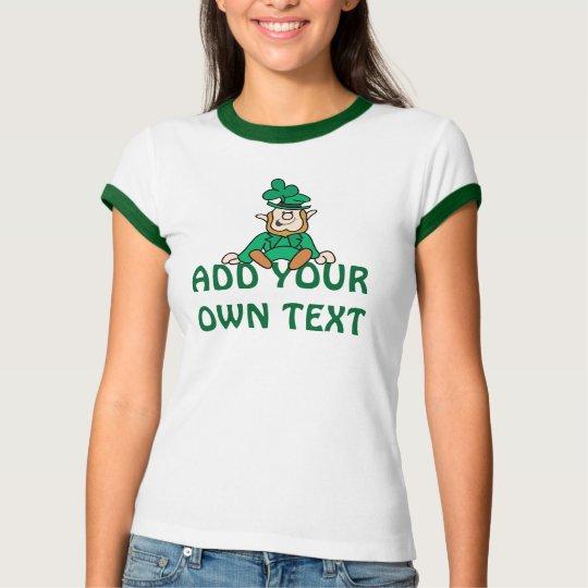 Little Leprechaun - Add Your Own Text T-Shirt